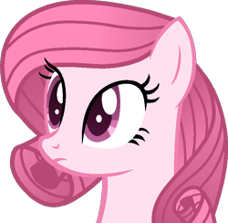 Size: 726x708 | Tagged: safe, artist:muhammad yunus, oc, oc only, oc:annisa trihapsari, earth pony, equine, fictional species, mammal, pony, feral, friendship is magic, hasbro, my little pony, female, hair, mare, medibang paint, pink body, pink hair, simple background, solo, solo female, transparent background, vector