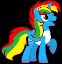 Size: 1060x1080   Tagged: safe, artist:徐詩珮, oc, oc:shield wing, hasbro, my little pony