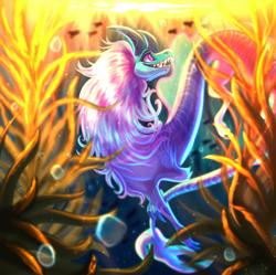 Size: 1526x1520 | Tagged: safe, artist:plaguedogs123, sisu (raya and the last dragon), dragon, eastern dragon, fictional species, furred dragon, feral, disney, raya and the last dragon, female, solo, solo female