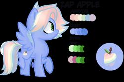 Size: 1280x852   Tagged: safe, artist:brush-prism, artist:brushprism, oc, oc:zap apple, hasbro, my little pony